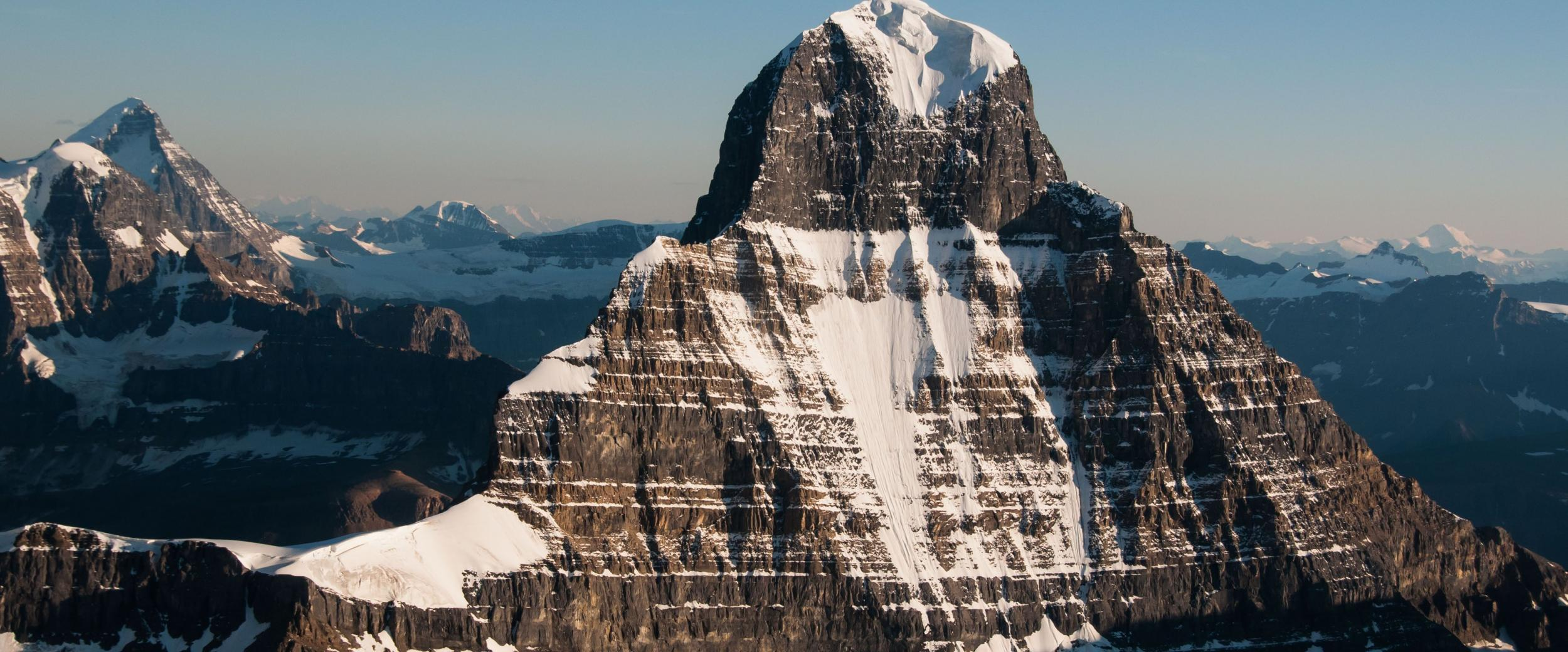 IFMGA, Association of Canadian Mountain Guides, Mt. Alberta, Photo by Marc Piché